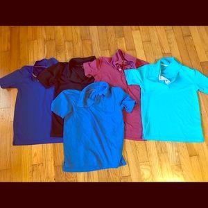 Boys short sleeve polos (assorted brands)
